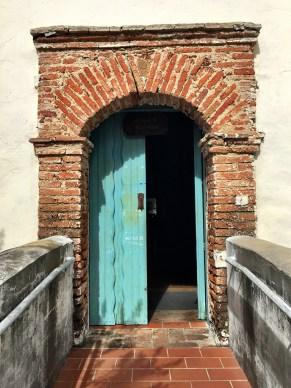 Mission San Juan Bautista Chapel Doorway