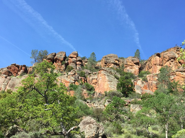 Pinnacles Rock Formations Near Bear Gulch Day Use Area