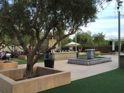 The Grove Restaurant Courtyard in Hollister California