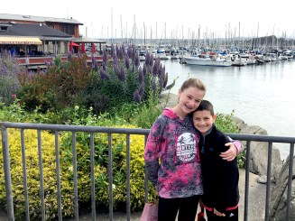 Visiting Fishermans Wharf In Monterey