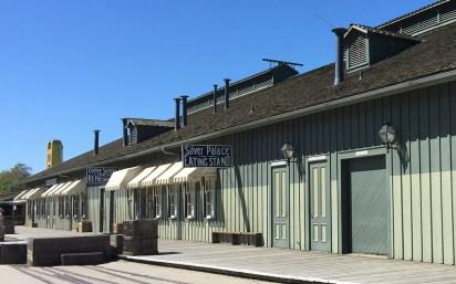 Historic Railroad Sheds at Old Sacramento