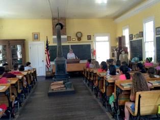 Historic Schoolhouse in Old Sacramento