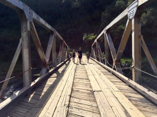Ponderosa Bridge at Codfish Creek Trailhead