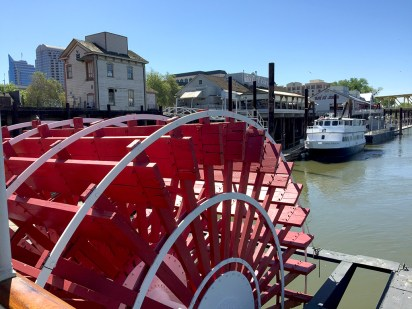 View of Old Sacramento From The Delta King