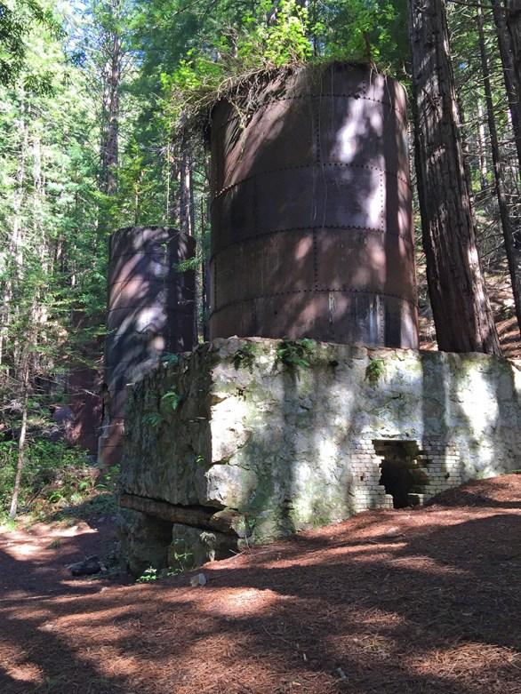 Explore Four Abandoned Historic Lime Kilns Along Pacific Coast in Big Sur