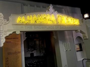 Alhambra Theater Exhibit at the California Museum
