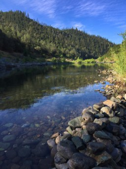 Hiking in the American River Canyon Near The Confluence