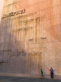 California Museum Constitution Wall