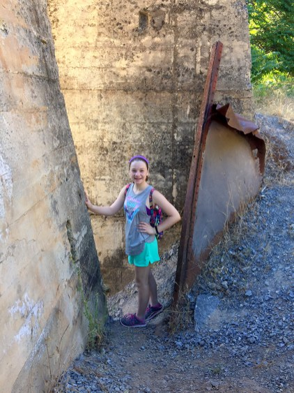 Exploring Old Limestone Mine Remains With Kids