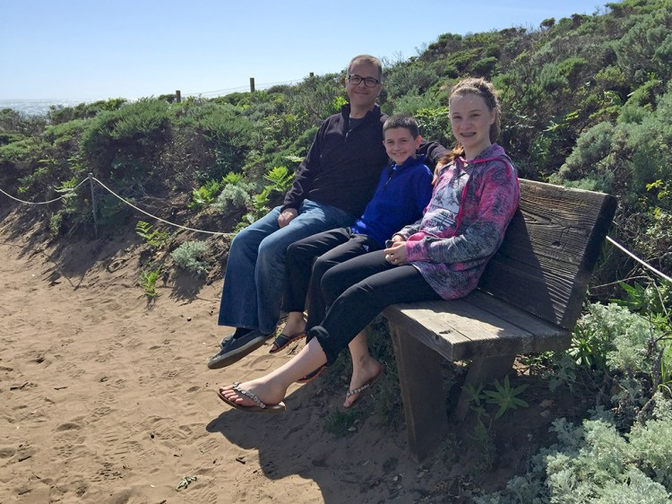 Family Hike on the Headlands Trail to Molera Point in Andrew Molera State Park