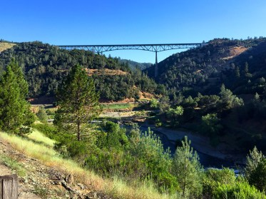 Forest Hill Bridge And American River Canyon