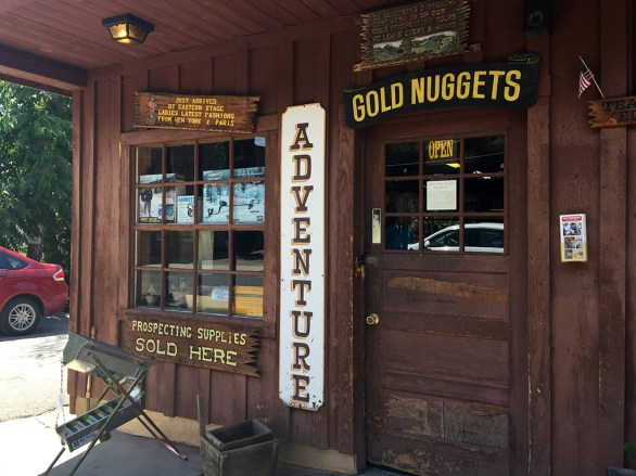 Gold Mining Store in Historic Jamestown California