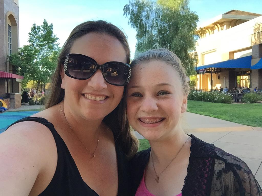 Jennifer Bourn and Natalie Bourn