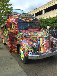 Furthur Bus Appearance At The Portland Dead And Company Concert