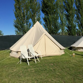 Gorge Oasis Campground Canvas Tents for Two or Four People