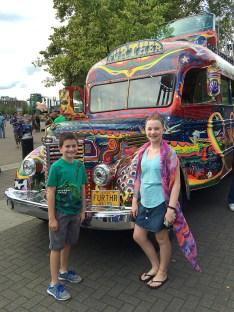 Grateful Dead Family Checks Out The Furthur Bus