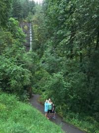 Hiking Latourell Falls in Oregon