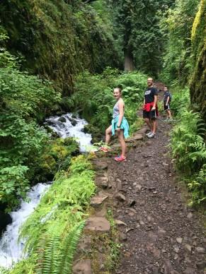 Hiking Through Wahkeena Canyon to Fairy Falls