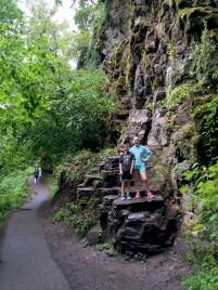 Hiking Trail To Latourell Falls