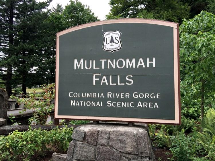 Multnomah Falls Columbia River Gorge National Scenic Area