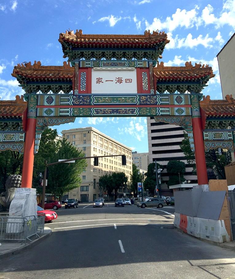 Portland China Town