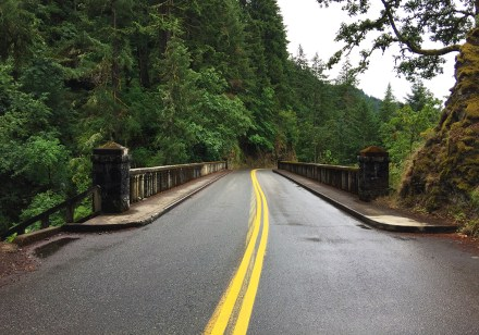 Shepperds Dell Bridge, Concrete arch bridge over Shepperds Dell on Historical Columbia River Highway