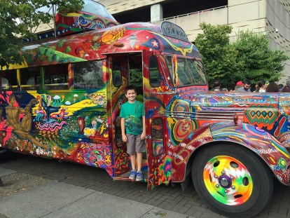 The Furthur Bus, Ken Kesey and The Merry Pranksters