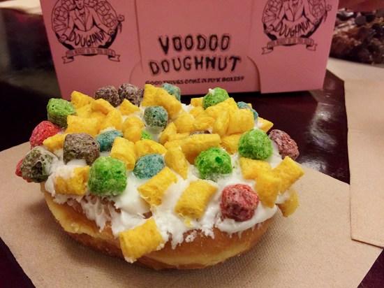 Voodoo Doughnut Captain Crunch Doughnut