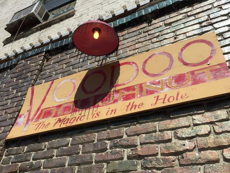 Voodoo Doughnut Sign