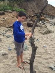 Carter Bourn Stacking Rocks