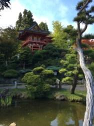 Japanese Tea Garden Pagoda in San Francisco