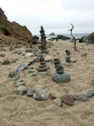 Lands End Mile Rock Beach on the San Francisco Coastal Trail