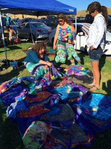 Tie Dye Vendors on Shakedown Street