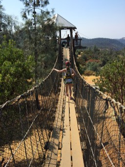 Bridge to Moaning Cavern Zip Line Platform
