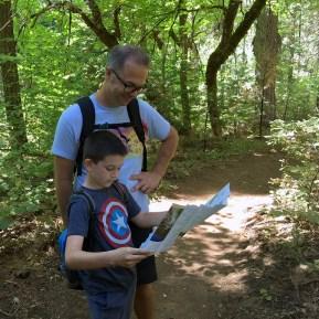 Calaveras Big Trees Trail Map