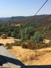 California Zip Line Launch Platform View