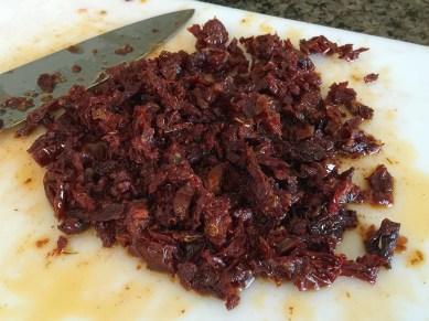 Chopped Sundried Tomatoes Bruschetta Recipe
