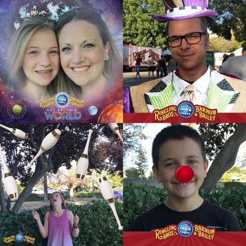 Family Circus Selfies
