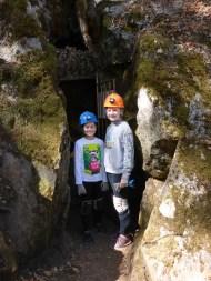 Kids Caving Adventure Underground At California Cavern