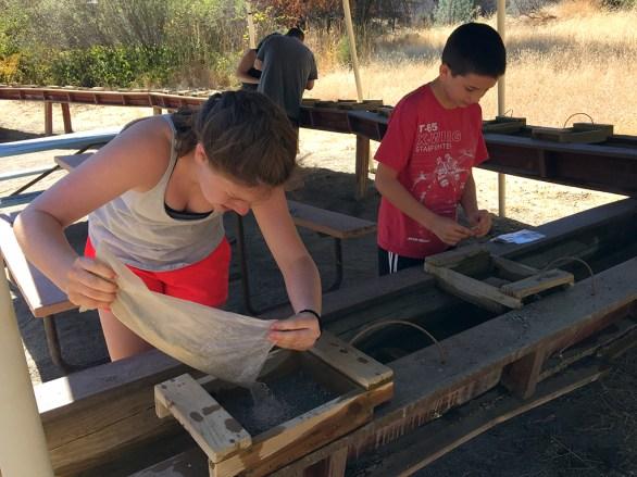 Kids Gemstone Mining and Gold Panning