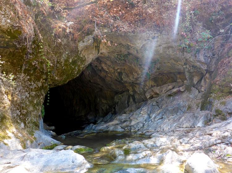 Upper Natural Bridges Cave Entrance