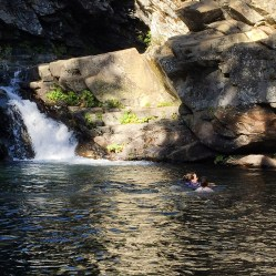 Emigrant Gap Waterfall and Swimming Hole
