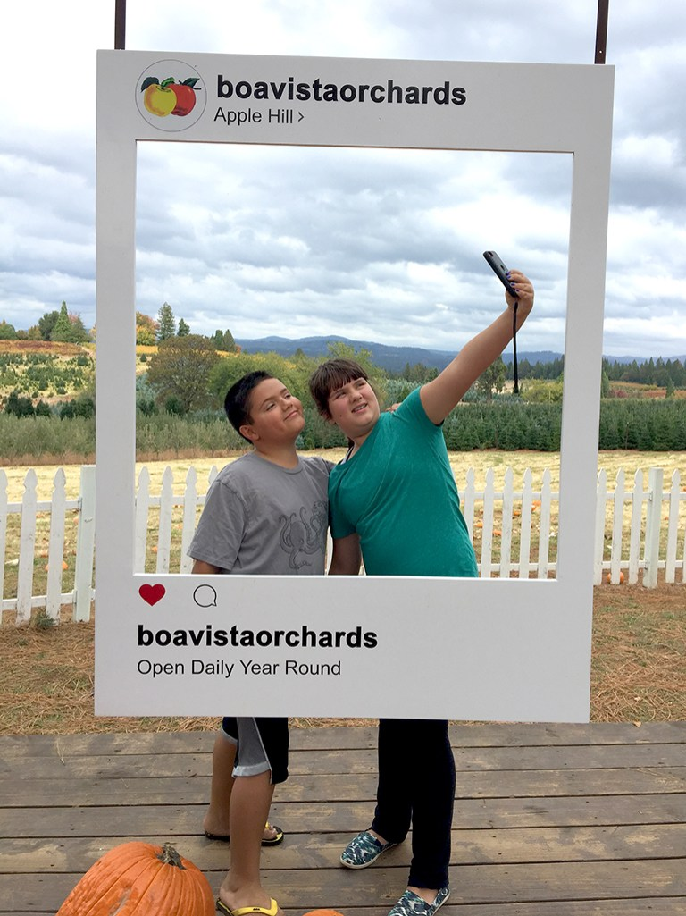 Boa Vista Orchards Photo Op Stations