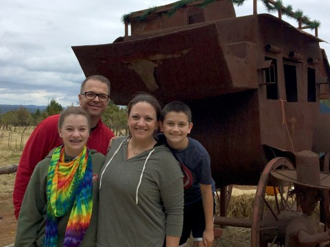 Bourn Family at Mill View Ranch