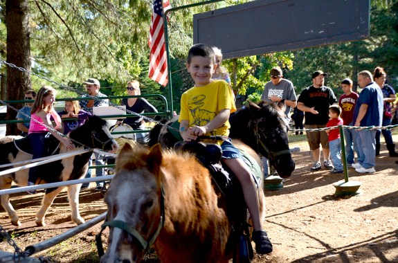 High Hill Ranch Pony Rides at Apple Hill