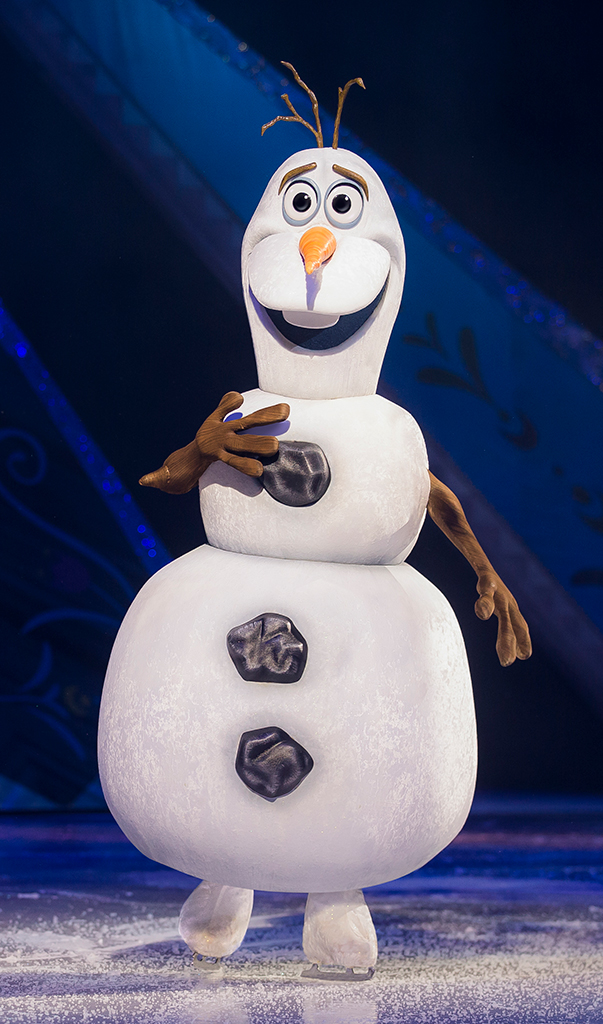 Disney on Ice Passport to Adventure with Olaf The Snowman Comes to Sacramento