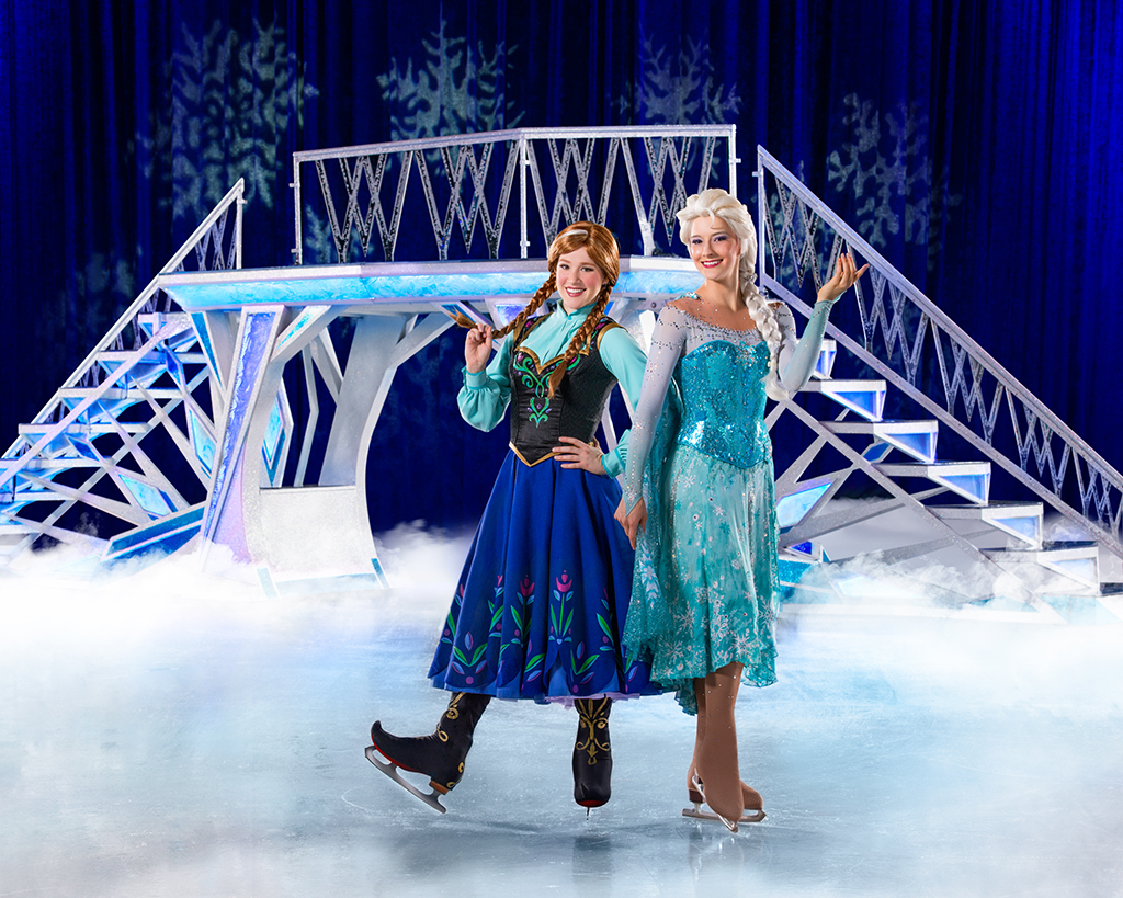 Disney on Ice Passport to Adventure with Queen Elsa and Princess Anna Comes to Sacramento