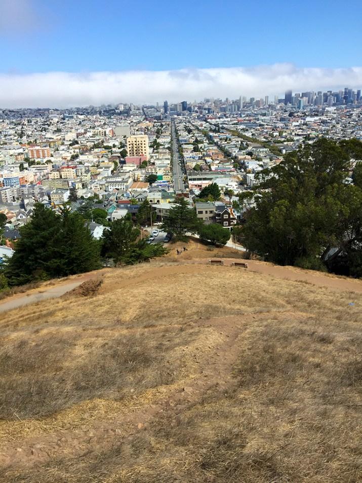 360 Degree Views of San Francisco from Bernal Hill