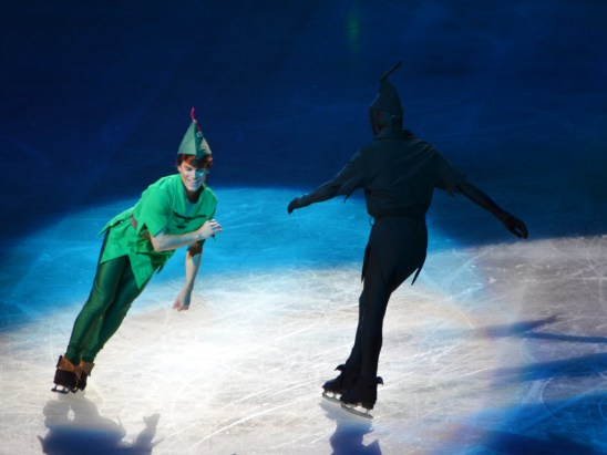 Peter and His Lost Shadow in Disney On Ice Passport To Adventure