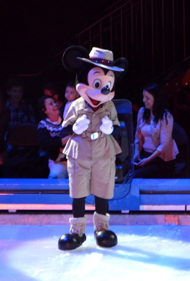 Mickey Mouse in Disney on Ice Passport To Adventure